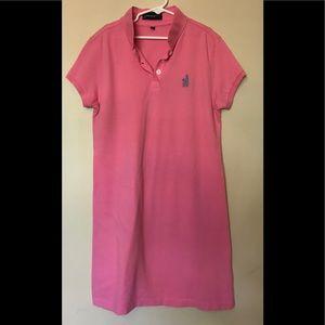 Johnnie-O Polo Shirt Dress size 12